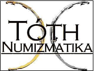 Tóth Numizmatika logoja