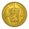 Hollandia I. Wilhelmina 10 Gulden 1925